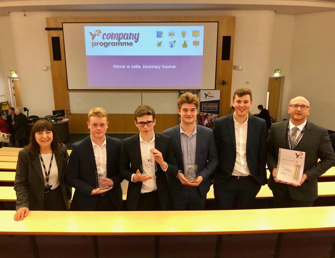 Student-run business wins Nottinghamshire Young Enterprise final