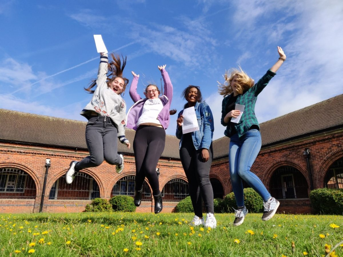 GCSE results celebrations across Diverse Academies as pass rate rises following exam reforms