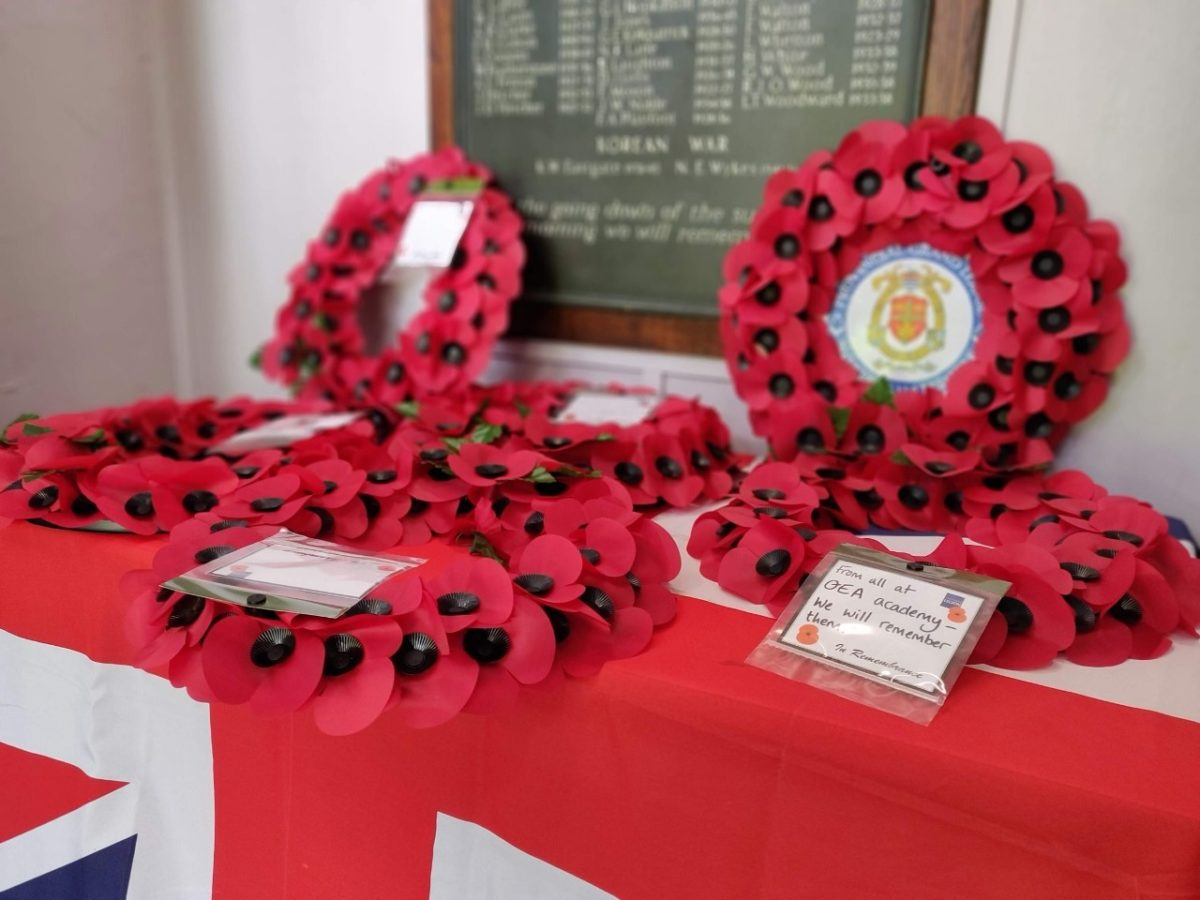 Queen Elizabeth's Academy hold moving Remembrance Service