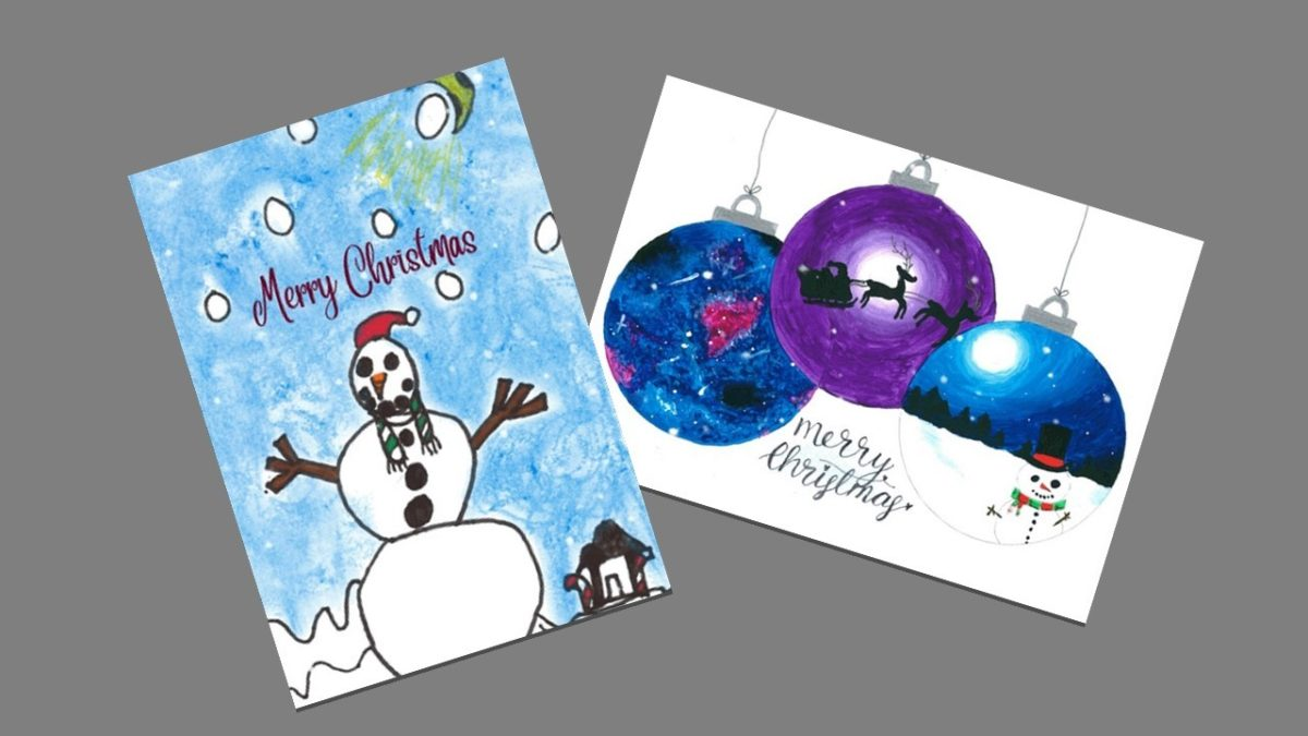 Christmas card competition 2019 winners announced